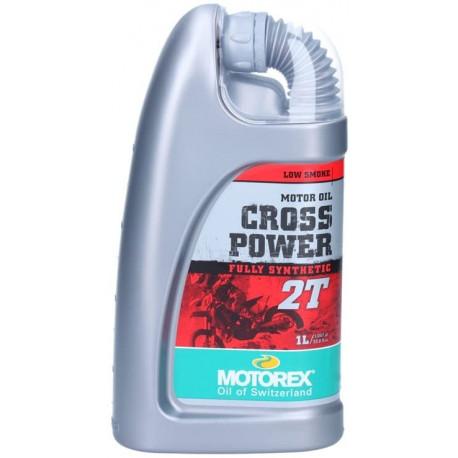 Motorex Motoröl 2-Takt, Cross Power 2T, vollsynthetisch, 1 l